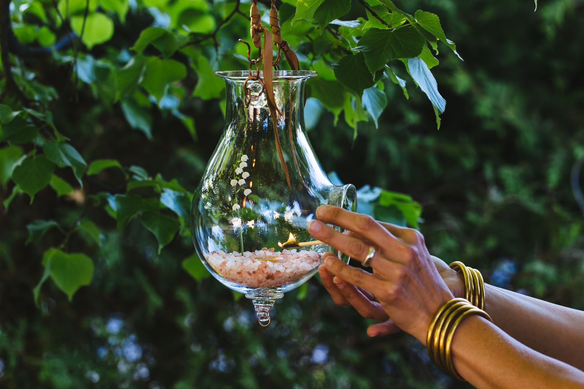 astrancia - accueil - lanterne - allumage