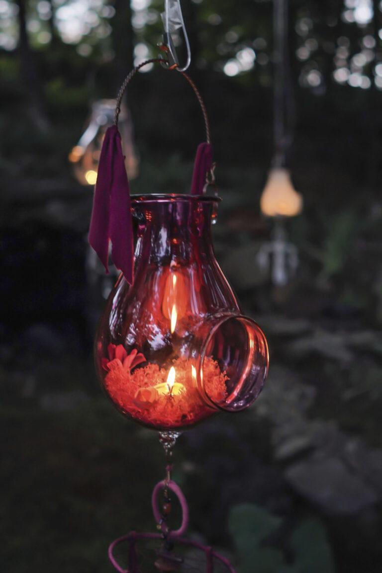 Lanterne Lotus