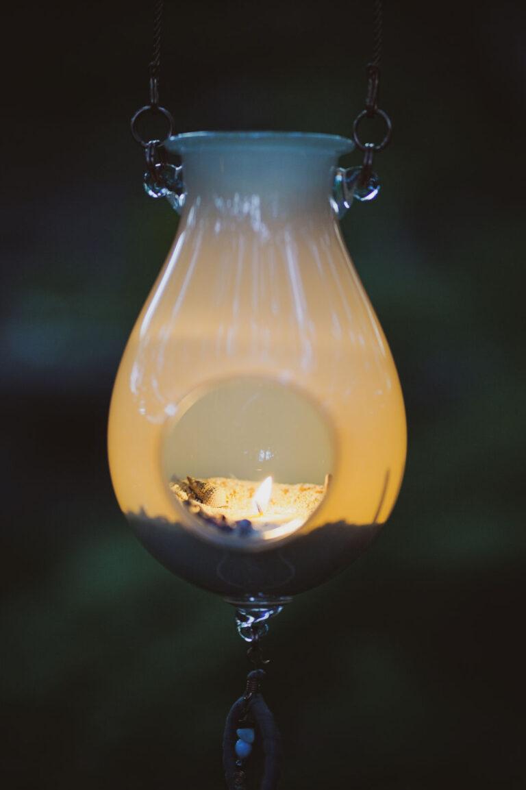 Lanterne Lune d'argent